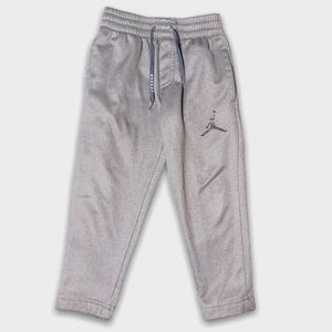 Jordans Light Gray Athletic Track Pants